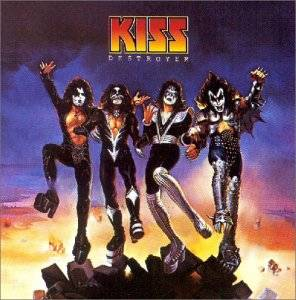 KISS: Destroyer - Cover