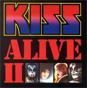KISS: Alive II - Cover