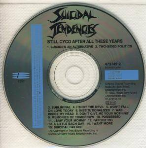 Suicidal Tendencies: Still Cyco After All These Years (CD) - Bild 4