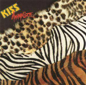 KISS: Animalize - Cover