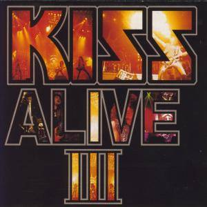 KISS: Alive III - Cover