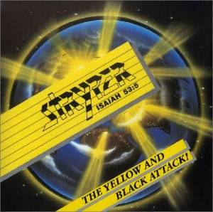 Stryper: Yellow And Black Attack!, The - Cover