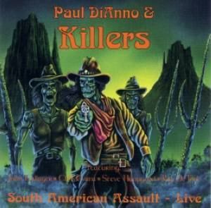 Cover - Killers: South American Assault - Live