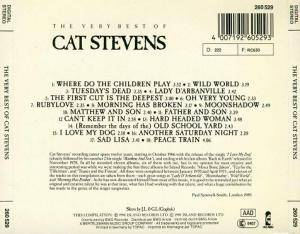 Cat Stevens: The Very Best Of Cat Stevens (CD) - Bild 2