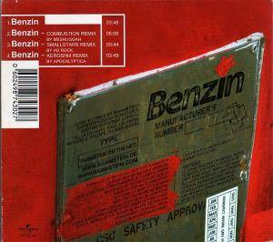 Rammstein: Benzin (Single-CD) - Bild 2
