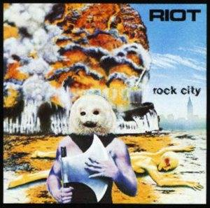 Riot: Rock City - Cover