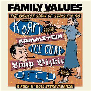 Family Values Tour '98 - Cover