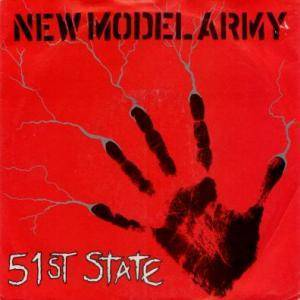 New Model Army: 51st State - Cover