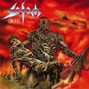 Sodom: M-16 - Cover