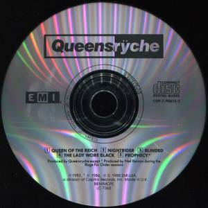 Queensrÿche: Queensrÿche (Mini-CD / EP) - Bild 3