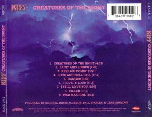 KISS: Creatures Of The Night (CD) - Bild 2