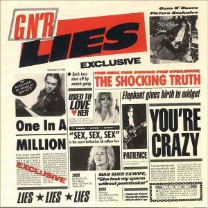 Cover - Guns N' Roses: G N'R Lies
