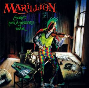 Cover - Marillion: Script For A Jester's Tear