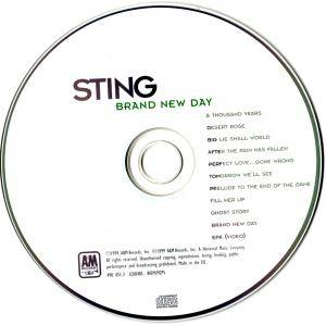 Sting: Brand New Day (CD) - Bild 3