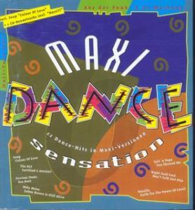 Maxi Dance Sensation 06 - Cover