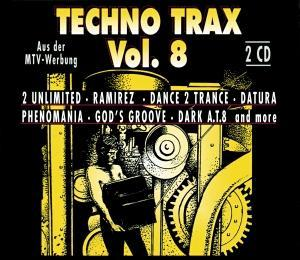 Techno Trax Vol. 08 - Cover
