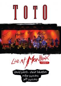 Toto: Live At Montreux 1991 - Cover