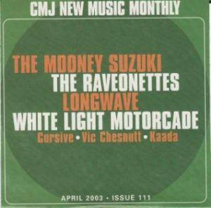 CMJ - New Music Volume 111 - Cover