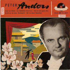 Cover - Peter Anders: Peter Anders (Polydor)