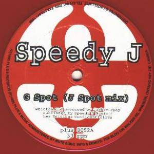 Cover - Speedy J: G Spot