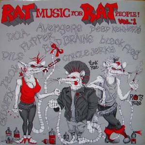 Rat Music For Rat People! Vol. 1 - Cover