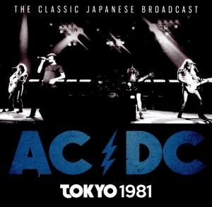 AC/DC: Classic Japanese Broadcast - Tokyo 1981, The - Cover