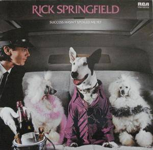 Rick Springfield: Success Hasn't Spoiled Me Yet - Cover