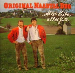 Cover - Original Naabtal Duo: Alles Liebe Alles Gute