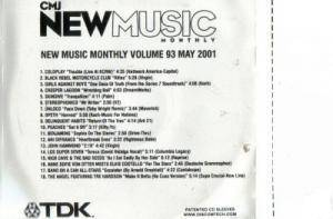 CMJ - New Music Volume 093 - Cover