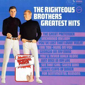 The Righteous Brothers: Greatest Hits - Cover