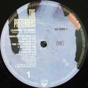 Pretenders: Learning To Crawl (LP) - Bild 3