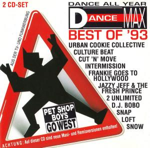 Dance Max Best Of '93 - Cover