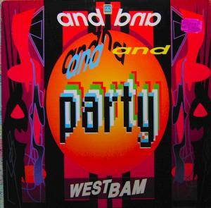 WestBam: And Party - Cover