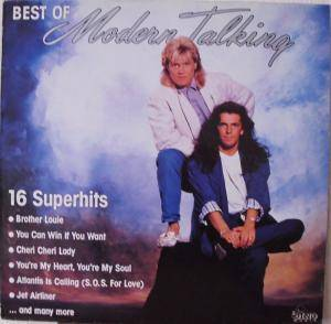 Modern Talking: Best Of - Cover