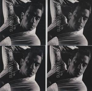 Robbie Williams: Greatest Hits Promo 4 CD Set - Cover