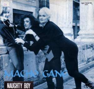 Cover - Macho Gang: Naughty Boy