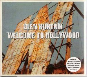 Cover - Glen Burtnick: Welcome To Hollywood