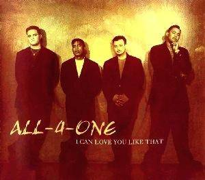 Cover - All-4-One: I Can Love You Like That