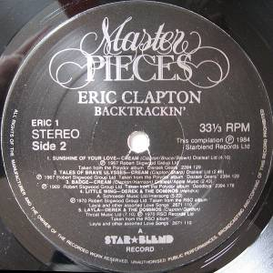 Eric Clapton / Cream / Derek And The Dominos / Blind Faith: Backtrackin' (Split-2-LP) - Bild 7