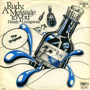 Cover - Dandy Livingstone: Rudy, A Message To You