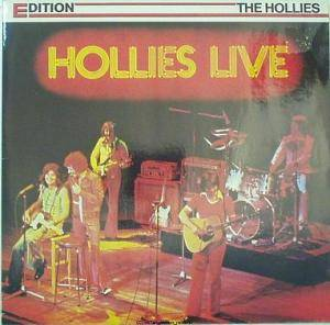 The Hollies: Hollies Live - Cover