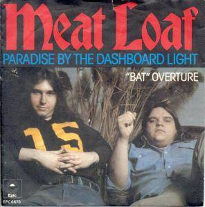 Meat Loaf: Paradise By The Dashboard Light - Cover