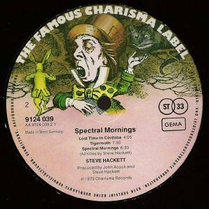 Steve Hackett: Spectral Mornings (LP) - Bild 4