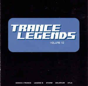 Trance Legends Volume 1.0 - Cover