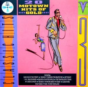 Motown Hits Of Gold - Volume 3 - Cover