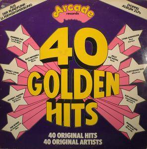 Cover - Marquis Of Kensington: 40 Golden Hits