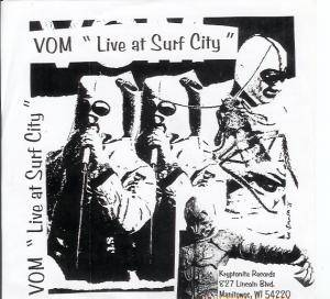 Vom: Live At Surf City - Cover