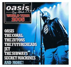 NME - Oasis Presents (Oasis On The Road: World Tour 2005) - Cover