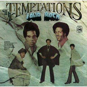 The Temptations: Solid Rock - Cover