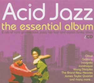 Cover - Bah Samba: Acid Jazz - The Essential Album